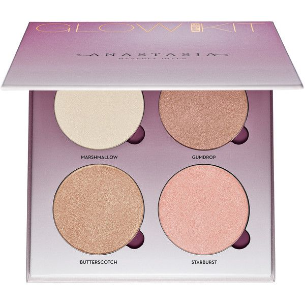 Sugar Glow Kit Anastasia Beverly Hills (130 BRL) ❤ liked on Polyvore featuring beauty products, makeup, beauty, anastasia beverly hills makeup, anastasia beverly hills cosmetics and anastasia beverly hills