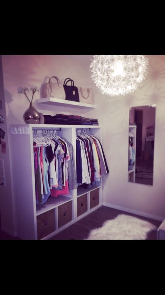 PRICE PER PIECE 2x Rebuilded Kallax Shelves high-gloss white Can easily be rebuilt …, 2x Kallax Shelf Cabinet high-gloss white Kleidersc …