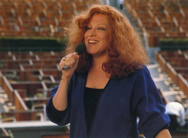 """CC Bloom (Bette Midler) in """"Beaches"""" (1988) Could there be a sadder movie? Love it!"""