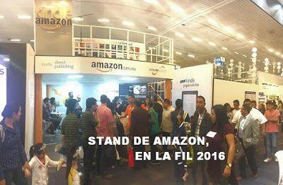 cuentos y otros fantasmas (mi blog principal): FIL GUADALAJARA 2016. Mi visita al stand de AMAZON...