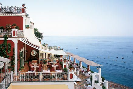 Love the views from Le Sireunse in Positano Italy!Positano Italy, Sirenuse Hotels, Amalfi Coast, Travel, Places, Condé Nast, Honeymoons Destinations, Le Sirenuse, Dreams Destinations