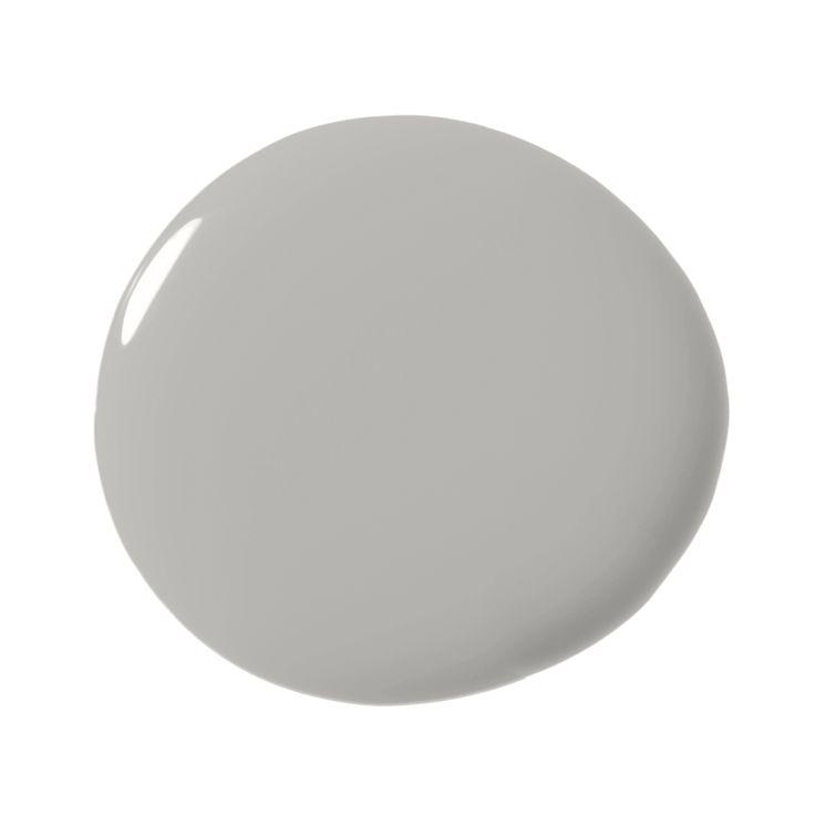 Benjamin Moore Baltic Gray 1467 - A lovely mid-tone gray.