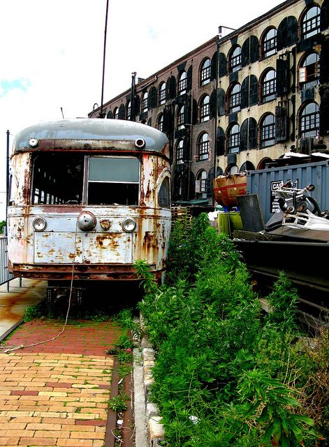 Just an amazing shot... of Red Hook, Brooklyn