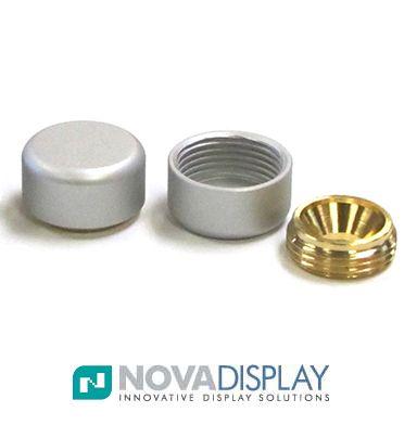 Decorative Screw Cap Support 5 8 Quot Dia Wall Plug Amp Cap
