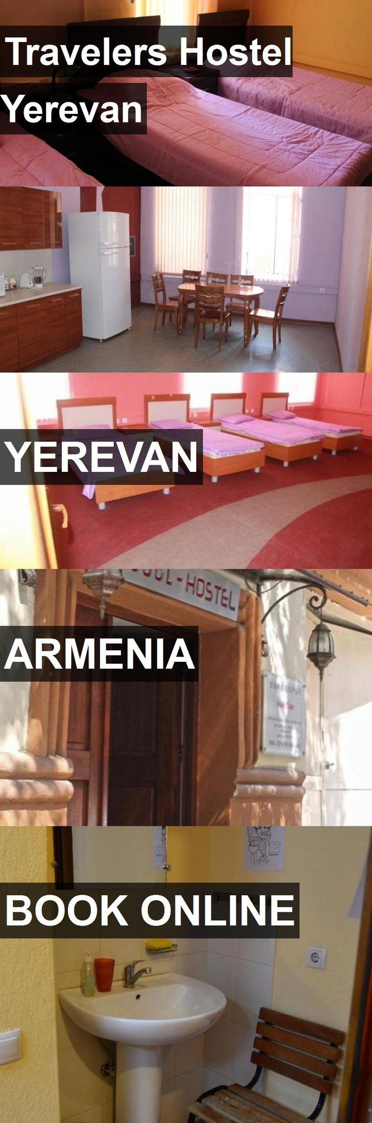 Travelers Hostel Yerevan in Yerevan, Armenia. For more information, photos, reviews and best prices please follow the link. #Armenia #Yerevan #travel #vacation #hostel