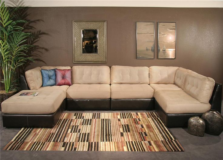 Quantum 6 piece sectional sofa by fairmont seating for Sofas a medida madrid