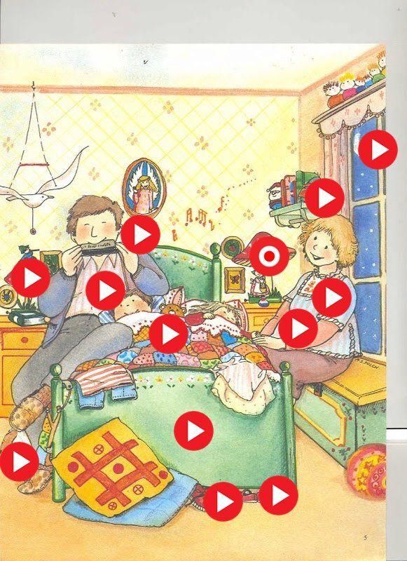Naar bed! Interactieve plaat met prentenboeken en muziek by ingrid