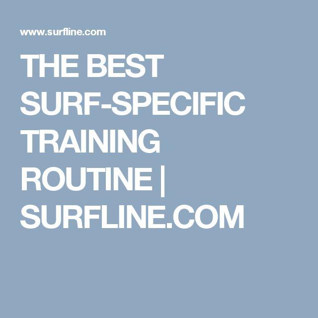 THE BEST SURF-SPECIFIC TRAINING ROUTINE | SURFLINE.COM