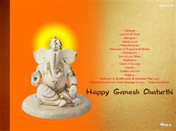 Ganpati Lord Of All Gods Happy Ganesh Chaturthi Greeting, Ganesh Chaturthi Greetings, Ganesh Chaturthi Fb Covers, Ganesh Chaturthi Images For Facebook