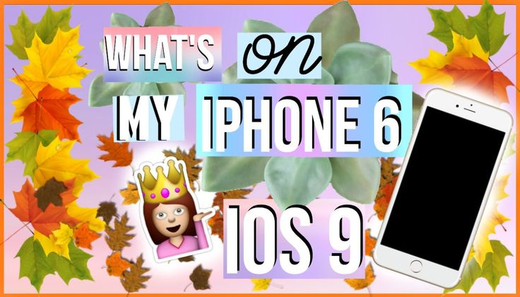What's On My iPhone 6 | iOS 9