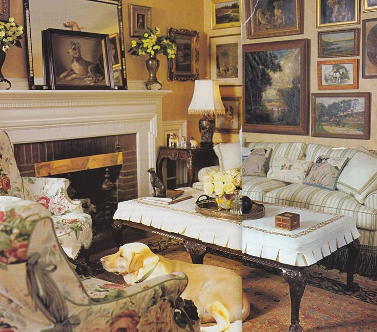 443 best images about cottage living rooms on pinterest - Country cottage style living room ideas ...