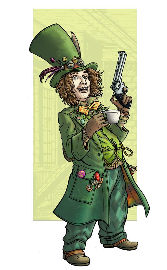 The Mad Hatter (Jervis Tetch) by PaulHanley on DeviantArt