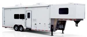 Rance Renegade Gooseneck Fifth Wheel Enclosed Car Hauler Trailer with options