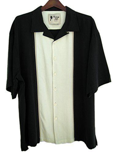 Mens Silk Luxury Retro Bowling Style Panel Camp Shirt Black (XLT) Vintage Silk http://www.amazon.com/dp/B00LG3R3IC/ref=cm_sw_r_pi_dp_mXI8tb1F6MG5R