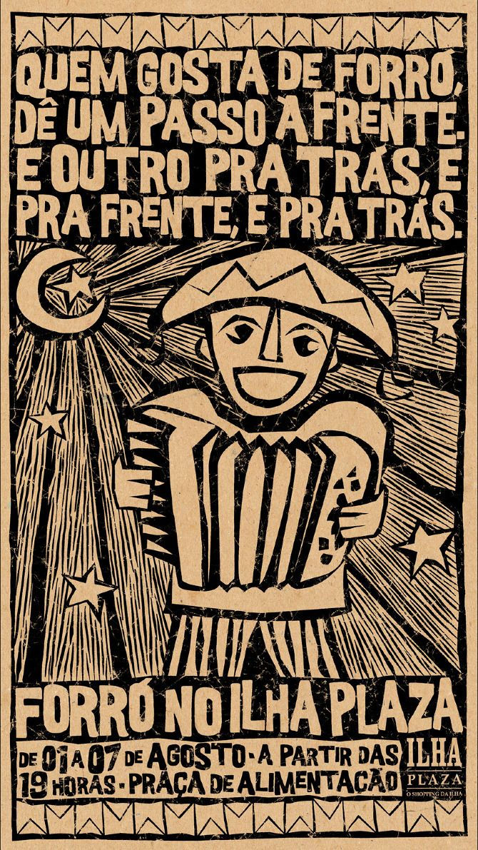 Cartaz Forró - Ana Petrucio
