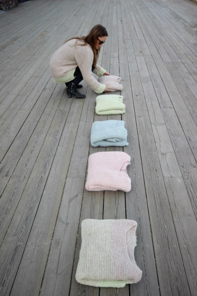 Skappelgensere #skappel #sandnesgarn #strikk #knit