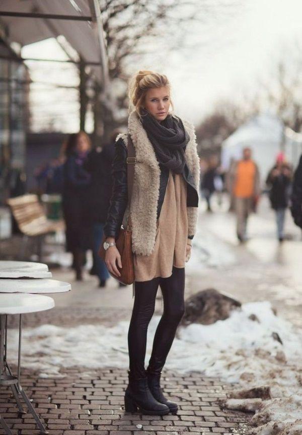40 Fashion-Forward Winter Romper Outfits - Stylishwife