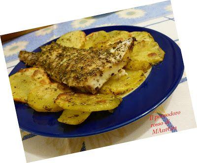 Il Pomodoro Rosso di MAntGra: Persico al forno con patate