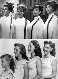 pictures of sisters | The Lennon Sisters - Wikipedia, the free encyclopedia