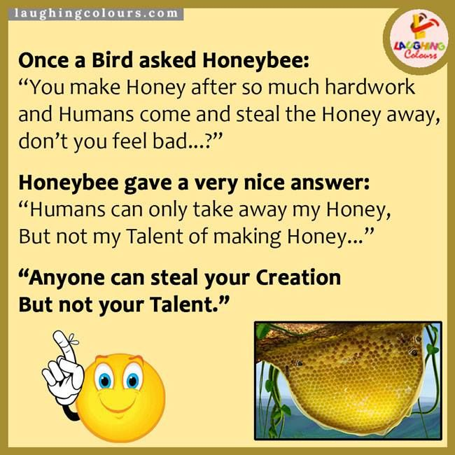 #honeybee you cant take away my #talent