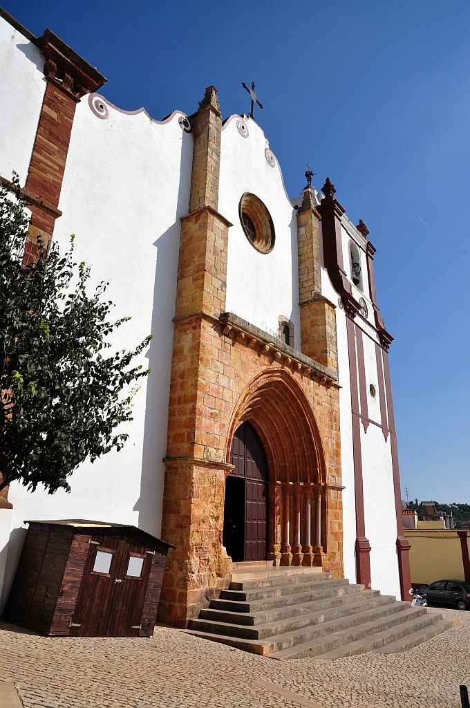 Kathedrale Silves.  Portugal