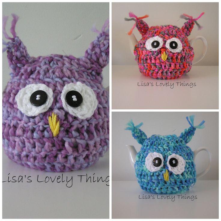 Owl Tea Cosy - The Supermums Craft Fair