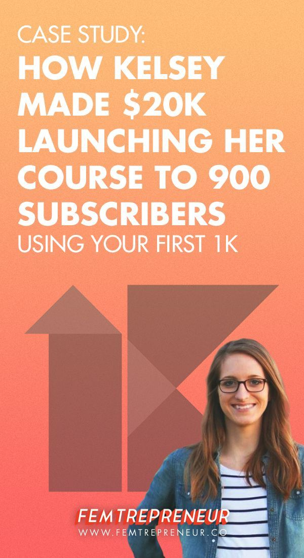 How Kelsey of Paper & Oats Made $20k Launching Her First Course to 900 Subscribers (Using Your First 1K) — FEMTREPRENEUR