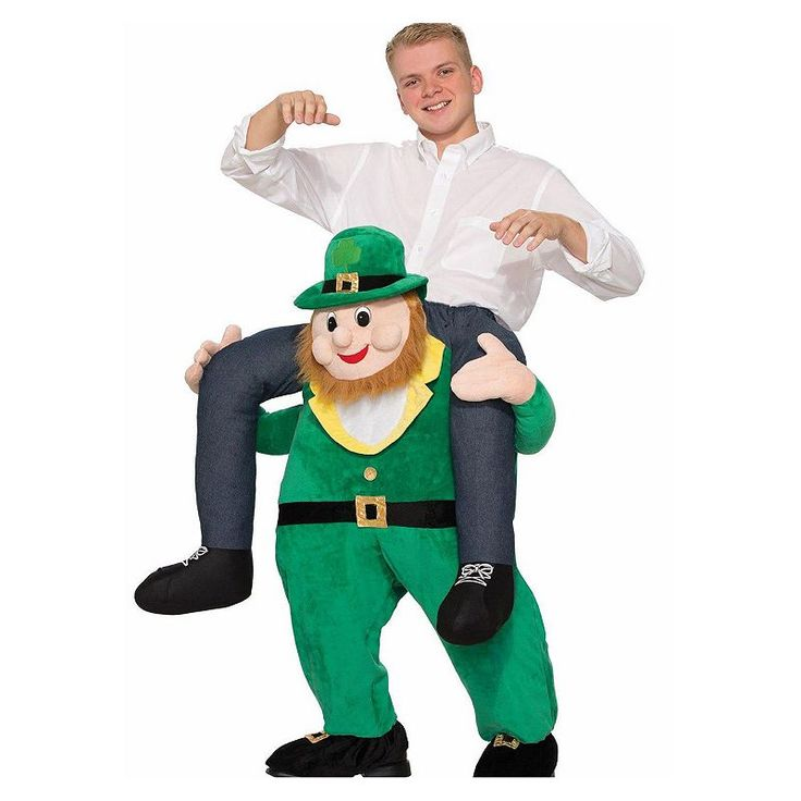 Adult St. Patrick's Day Once Upon a Leprechaun Costume, Multicolor