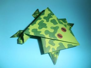 best 25 origami frog ideas only on pinterest easy