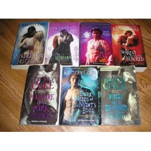 Kresley Cole's Immortals After Dark Series... one of my guilty pleasures!!!!