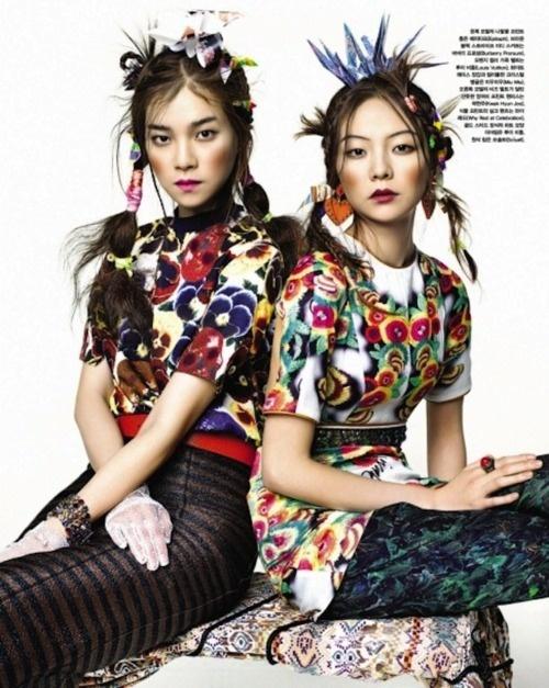 hyea w kang for vogue korea
