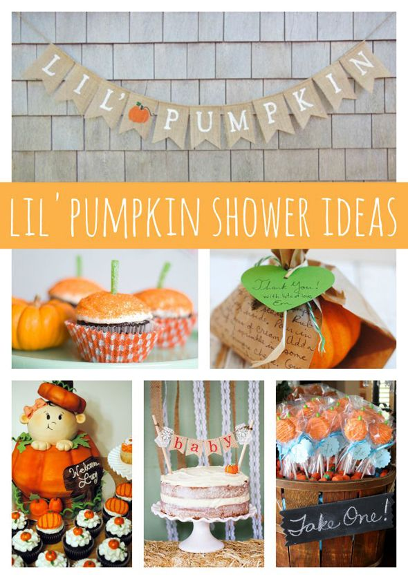 Are you planning a fall baby shower?! Check out these 21 Lil' Pumpkin Baby Shower Ideas on www.prettymyparty.com #party #cake #babyshower #halloween #pumpkin