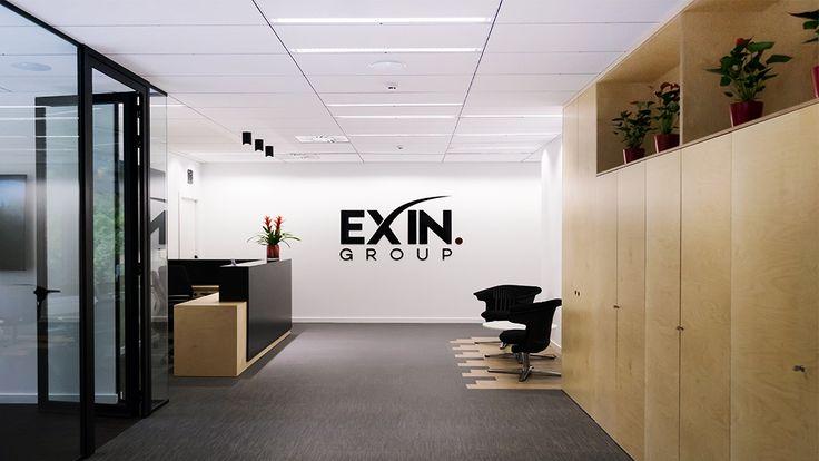 OFICINAS EXIN GROUP, Barcelona 2016. Vista hacia la entrada de las oficinas…