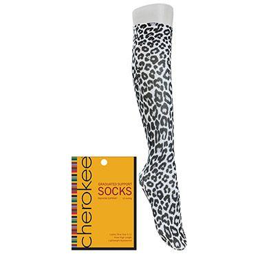 Footwear by Cherokee Women's Fashion Compression Sock