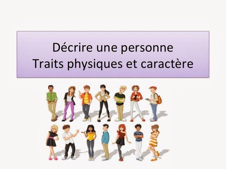 Francés para todos en Utebo: Décrire une personne