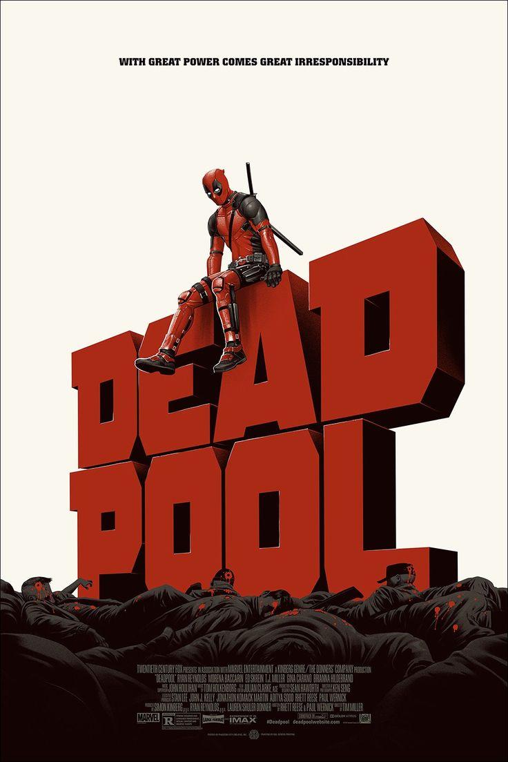 Deadpool Poster - Phantom City Creative