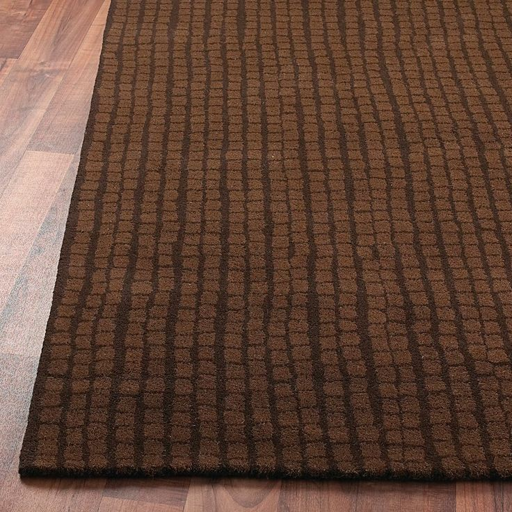 Contemporary Mosaic  Tile Hand Tufted Rug: 2 Colors