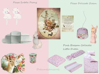 Oud Roze Babykamer of Kinderkamer, Inspiratie met oud Roze en Zacht ...