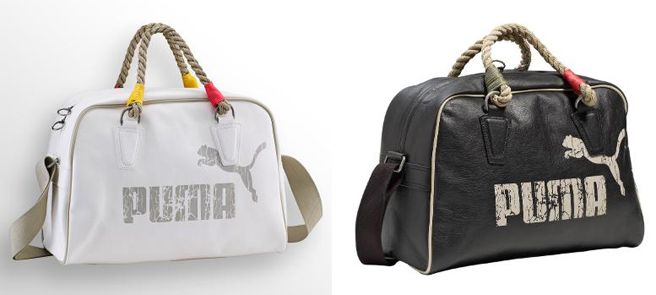 Love these old school looking bags!