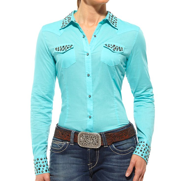 Ariat Women's Chloe Studded Long Sleeve Western Shirt