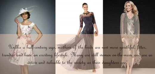 Flattering Mother Of The Bride Dresses: Youthful Styles Of Mother Of The Bride Dresses