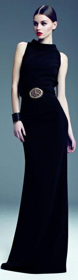 My perfect dress for BLPS Black & White Ball!   Dilek Hanif