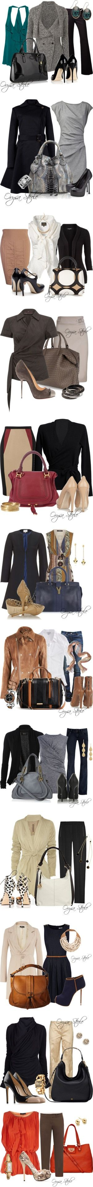 in+style+@+work - Click image to find more Women's Fashion Pinterest pins