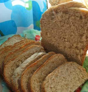 Kauraleipä leipäkoneella