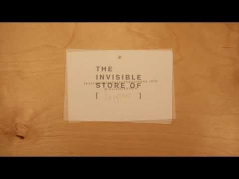 The Invisible Store of Happiness | What does it mean to you? | American maple & cherry