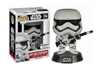 Star Wars POP! Episode 7 First Order Stormtrooper Armed limited