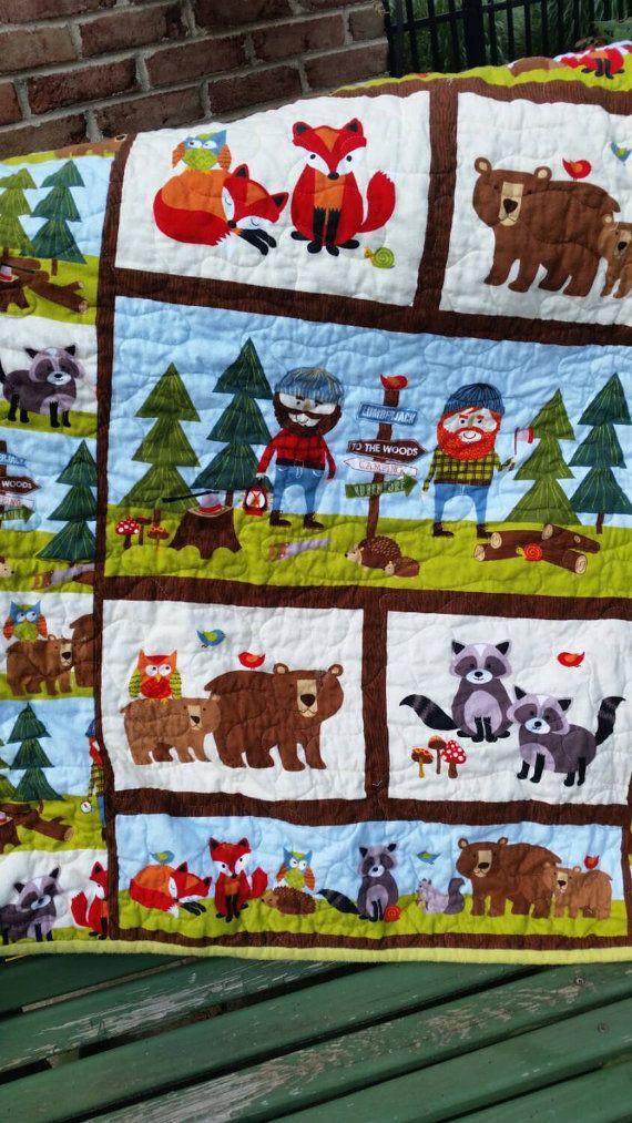 The 25+ best Woodland nursery bedding ideas on Pinterest ...
