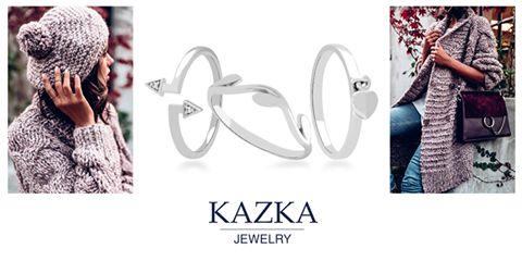 Белое золото в отличие от серебра никогда не потускнеет и не потемнеет, будет радовать вас своим блеском и великолепием долгие годы. Тонкие кольца можно сочетать друг с другом, создавая свой индивидуальный стиль. Купить кольца из белого золота - http://kazka.ua/koltsa/zoloto/beliy/
