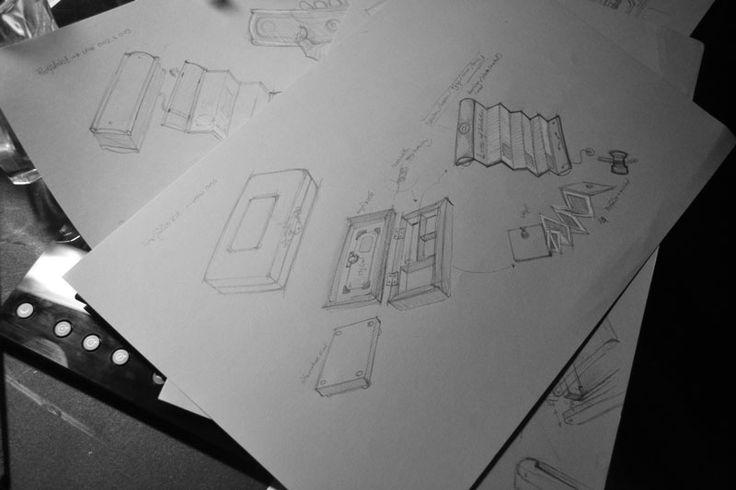 sketching for box design - by jun1art
