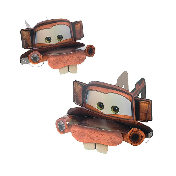 Cars 2® Tow Mater Party Hats - OrientalTrading.com - may have to get this for Brian to wear...